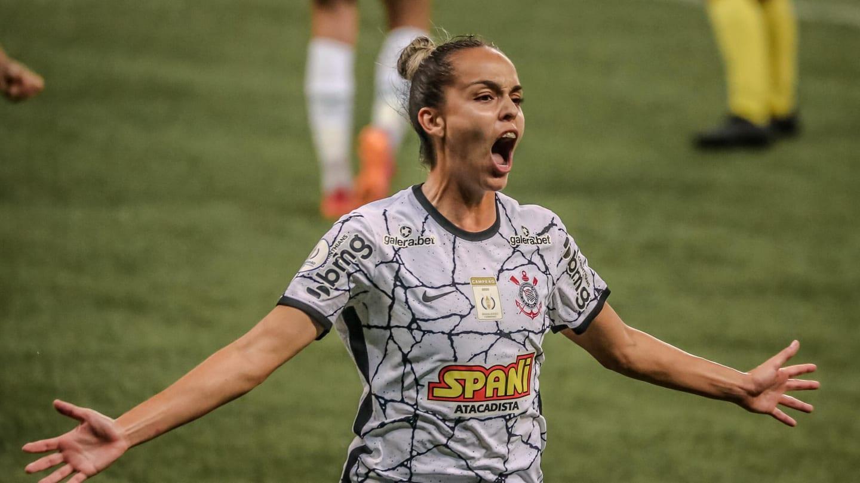 Corinthians vence Palmeiras no Allianz e abre vantagem na final do Brasileirão Feminino - 1
