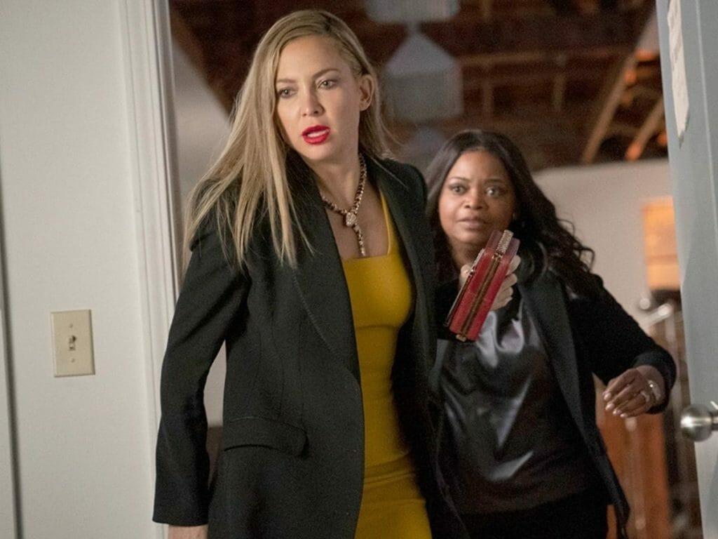 Kate Hudson e Octavia Spencer na série Truth Be Told