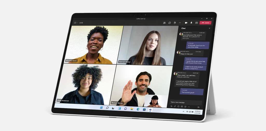 Microsoft atualiza tablets Surface 2 em 1, com design portátil e Windows 11 - 2