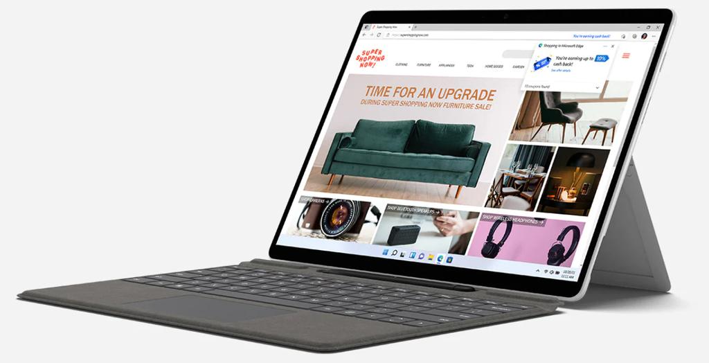 Microsoft atualiza tablets Surface 2 em 1, com design portátil e Windows 11 - 8