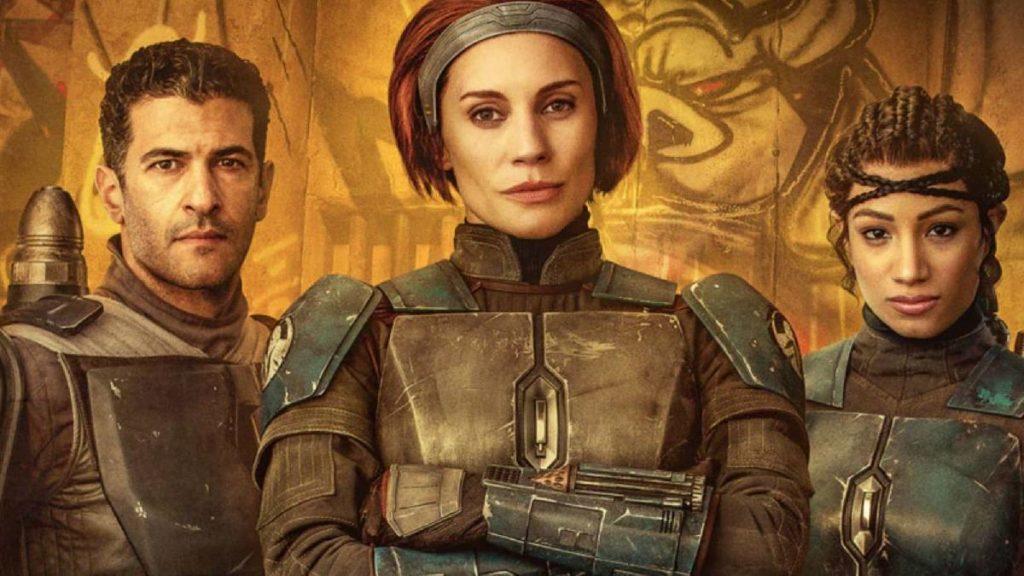 Katee Sackhoff deu voz para Bo-Katan em Clone Wars e agora vive a personagem em live-action em The Mandalorian (Fonte: Reprodução - Disney)