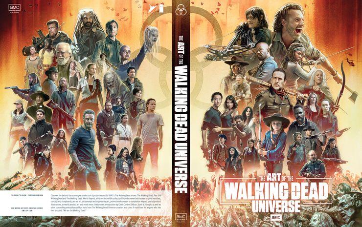 The Walking Dead revela segredos da série em livro - 1