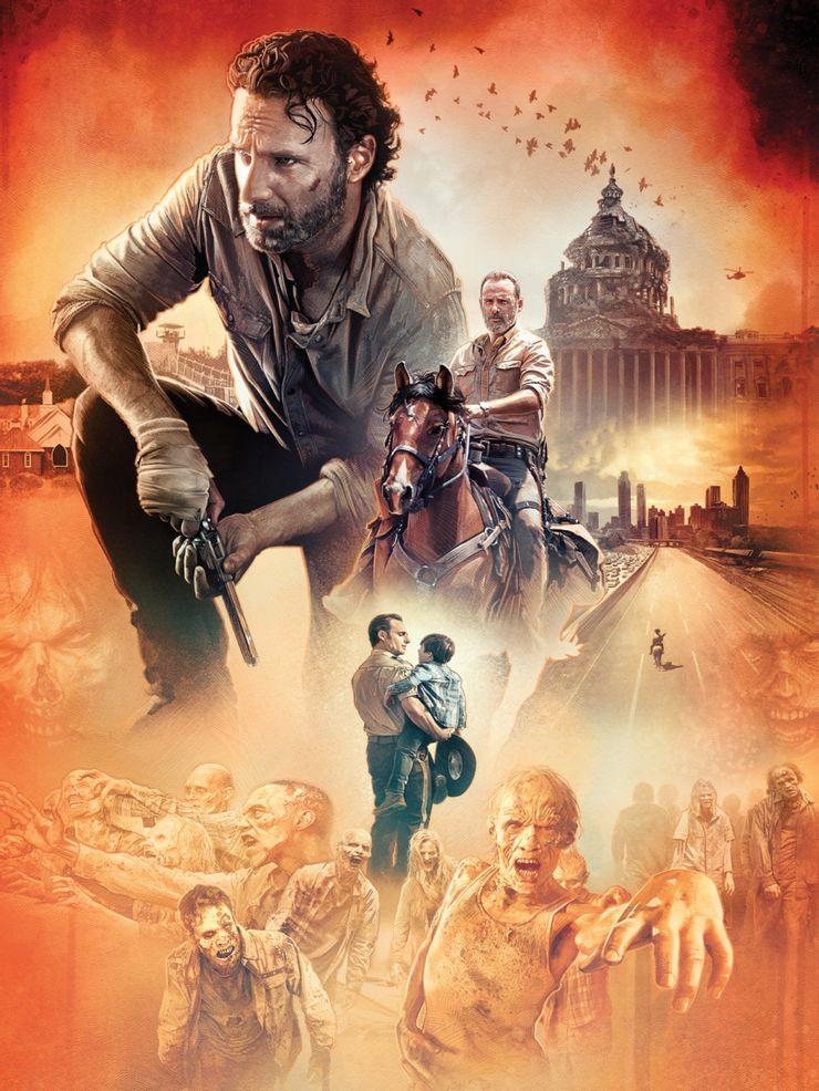 The Walking Dead revela segredos da série em livro - 2