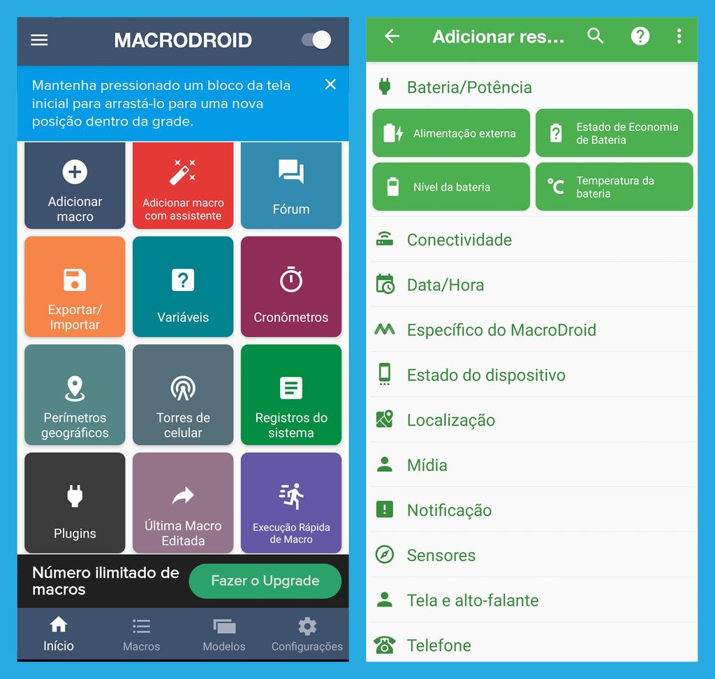 5 aplicativos para criar comandos e automatizar o celular - 2