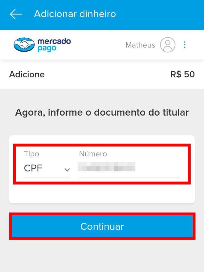 Como transferir dinheiro do Caixa Tem para Mercado Pago pelo celular - 10