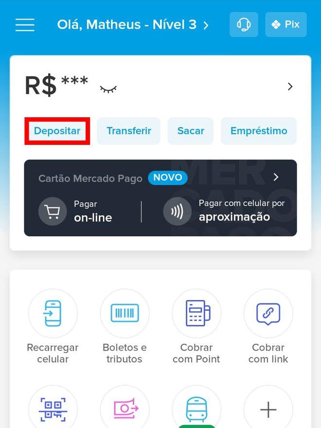 Como transferir dinheiro do Caixa Tem para Mercado Pago pelo celular - 5