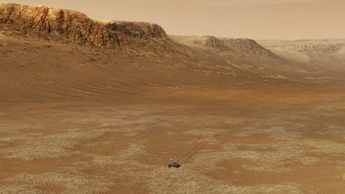 Confirmado! Cratera marciana Jezero abrigou mesmo um lago no passado distante - 1