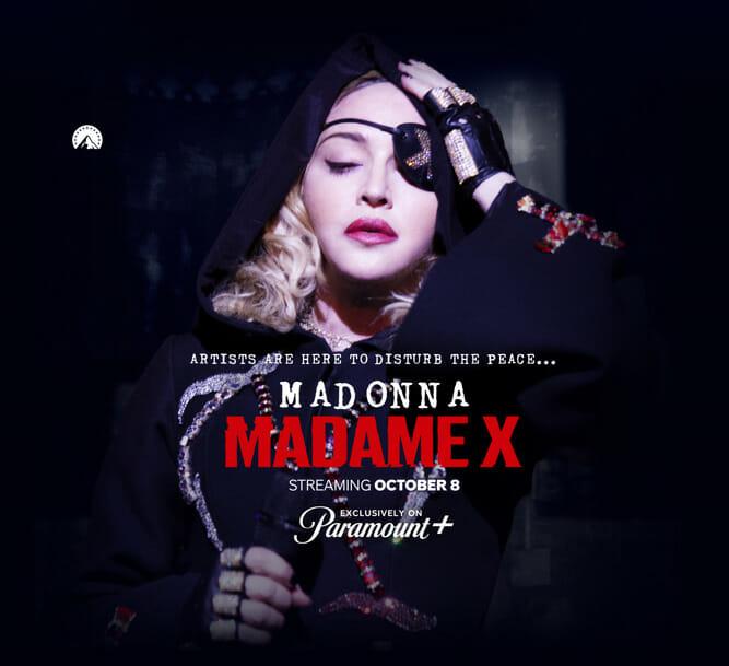 """""""MADAME X"""": Documentário de Madonna já está disponível no Paramount+ - 2"""