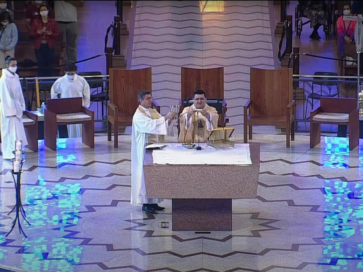 Missa celebrada por Dom Orlando Brandes deixa a TV Aparecida em 4º lugar - 1