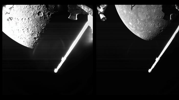 Sonda BepiColombo chegou a Mercúrio! Veja as primeiras fotos - 1