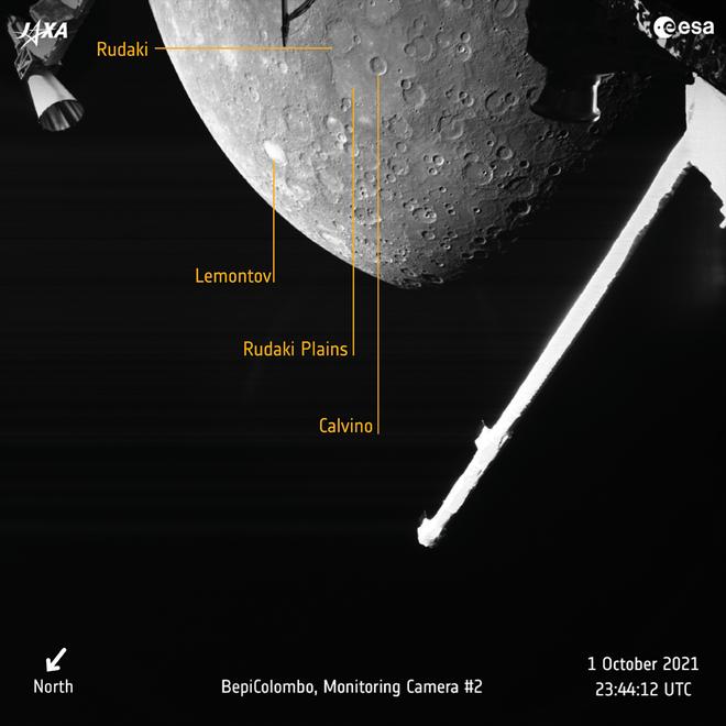 Sonda BepiColombo chegou a Mercúrio! Veja as primeiras fotos - 2