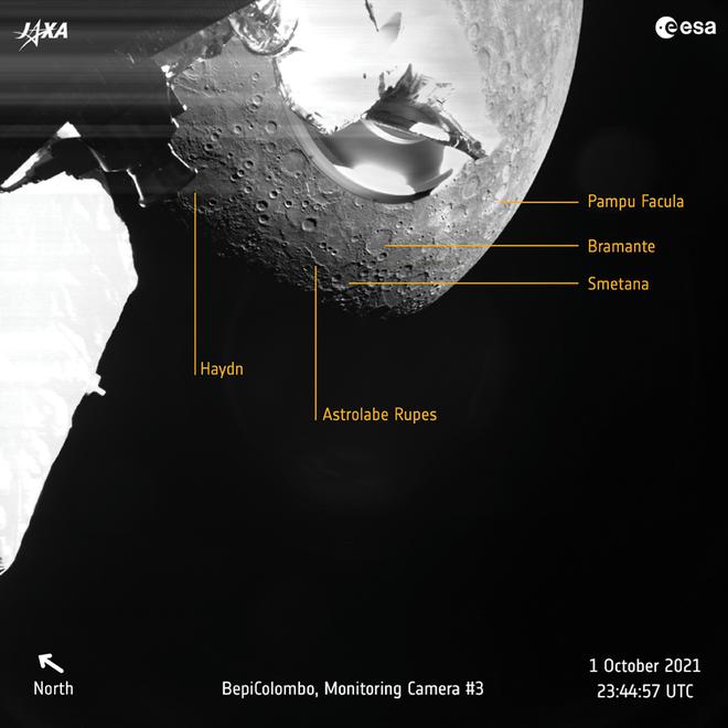 Sonda BepiColombo chegou a Mercúrio! Veja as primeiras fotos - 3